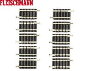 Fleischmann N 9104-S Gerades Gleis 27,75 mm (10 Stück) - NEU