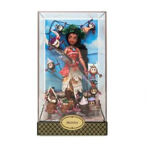 NEW Disney Designer Fairytale Collection ~ Limited Edition ~ Moana & Hei Hei