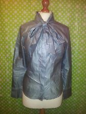 Aquascutum London Silk Blend Blouse Shirt - Size 8 - Mint Condition