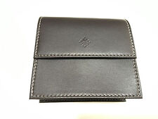 AUTHENTIC PATEK PHILIPPE, BROWN LEATHER SOFT TRAVEL CASE POUCH WITH PILLOW