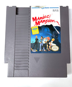 Maniac Mansion Game ORIGINAL NINTENDO NES GAME Tested + Working Authentic