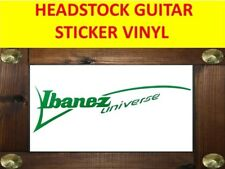 IBANEZ UNIVERSE GREEN SEVEN STRINGS STICKER VINYL VISIT OUR STORE WITH + MODEL