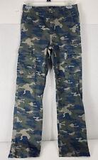 New listing Gap Kids Boy's Camo pants cargo utility Size 14 - Slim Straight Fit