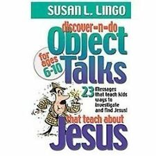 Discover-n-Do Object Talks That Teach About Jesus