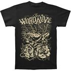 The WORD ALIVE - Wolf Black:T-shirt NEW:YOUTH LARGE ONLY