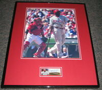 Ryan Howard Signed Framed 16x20 Photo Display UDA Phillies
