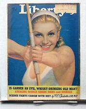 Sep 9,1939 Liberty Magazine-Baseball Stealing Word Series Signs & Signal (L6214)