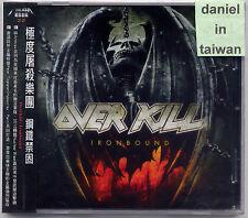 Overkill: Ironbound (2010) CD OBI TAIWAN
