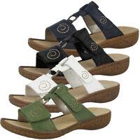 Rieker Damen Sandale Sandalette Sommerschuhe Sonstige 68879 90