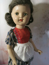 "Vintage 21"" Hp Walking Doll, Unusual Face"