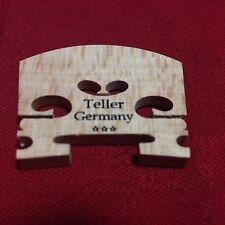 JOSEF TELLER 1/4 VIOLIN BRIDGE 3* STAR #129Q  A GRADE