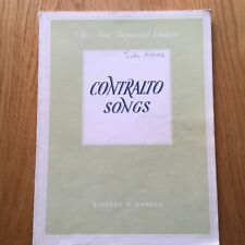 Contralto Songs Boosey and Hawkes Compilation