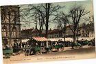 CPA ROANNE - Place de l'Hotel de Ville un jour de marché (210750)