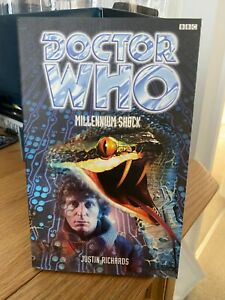 doctor who book -  MILLENNIUM SHOCK