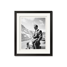 Sean Connery James Bond 007 B&W Poster Print