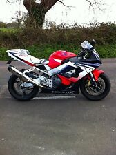 Honda CBR900 Fireblade 96-99 Stainless Oval Carbon out ROAD LEGAL Exhaust Can