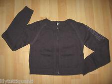 CAPTAIN TORTUE - Gilet court zippé violet - Taille 34 (164) - TBE !!!!