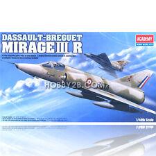 Academy 1/48 Dassual T-Breguet Mirage III R Plastic Model Kit #12248