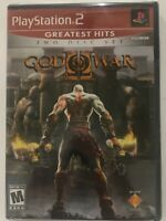 God of War II (Sony PlayStation 2, 2007) PS2 Greatest Hits version NEW SEALED