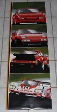 PORSCHE Rare Original VTG 1985 GIANT 62x21 DOOR POSTER! NEW OLD STOCK 944 928 S2
