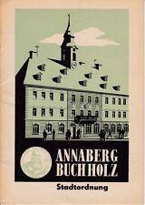 Annaberg Buchholz Stadtordnung, 1971