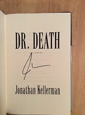SIGNED - Dr. Death No. 14 by Jonathan Kellerman Hardcover + Photo