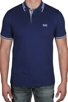 Hugo BOSS Men's Polo Shirt Paul Short Sleeve Slim Fit 50332503 407 Dark Blue