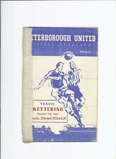 Peterborough United v Kettering 28 April 1955 Maunsell Cup Final