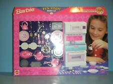 Barbie Fun Fixin Stove Set *New*