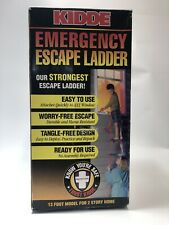 New listing Kidde 468093 Kl-2S Two-Story Fire Escape Ladder with Anti-Slip Rungs, 13-Foot