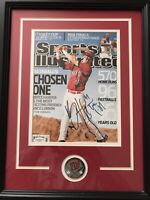 Bryce Harper RARE Signed High School Sports Illustrated Early Rookie Sig JSA