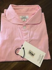 MILLER'S OATH FOR DOCKERS  THE PENNY COLLAR/ROUND COLLAR SHIRT PINK (L)