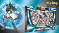 Lucario GX Collection Box Pokemon TCG Trading Card Game Sun & Moon Ultra Prism