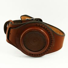 New genuine leather wristband for pocket watch high quality handmade brown 45 mm