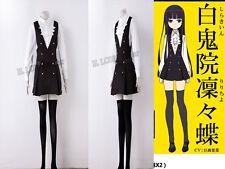 New Inu xBoku SS Shirakiin Ririchiyo Roromiya Karuta Cosplay Costume Dress