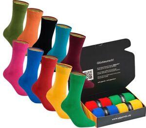 gigando   colorful Baumwoll-Socken   hochwertige bunte Socken   4 Paar