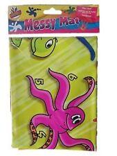 New Messy Mat Wipe Clean Activities No Floor Mess Art & Fun For Child Kids