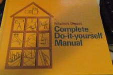 Reader's Digest Complete Do-it-yourself Manual 1973 Hardcover Book THIRD PRINTIN