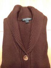 Used Brown Woman Cardigan Size S Ralph Lauren