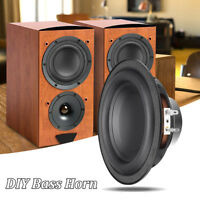 6inch 50W 6Ω Layered Diaphragm Loudspeaker Stereo Subwoofer Speaker DIY Horn