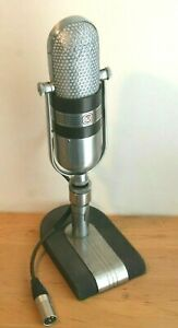 RCA 77-D Working Ribbon Microphone Vintage Mic with RCA stand