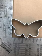 1 Cookie Cutter : Butterfly Flower Christmas tree Lucky 4 leave clover Men alloy