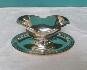 Christofle Silverplate Neptune Sauce Boat - 3802809