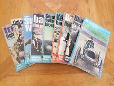 Ballantine's History 9 Books - WWII 5 18 22 27 28 Car 6 Politics 2 Battle 4 Lot