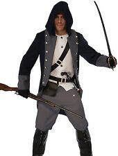 Silent Warrior Costume Mens Adult Ninja Assassins Creed - Fast Ship -