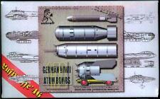 Unicraft Models 1/72 GERMAN ATOM BOMBS
