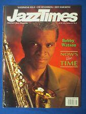 JAZZ TIMES MAGAZINE JUNE 1992 BOBBY WATSON SAXOPHONE ISSUE JOE HENDERSON