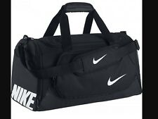 Nike Mens Womens Small Duffel Holdall Sports Workout Gym Bag black RRP: £49.99