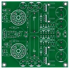 Stereo ECC88 preamplifier + PSU set of  PCB DIY