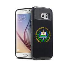 For Samsung S6 S7 Edge S8 + Shockproof Hard Case El Salvador Escudo Coat of Arms